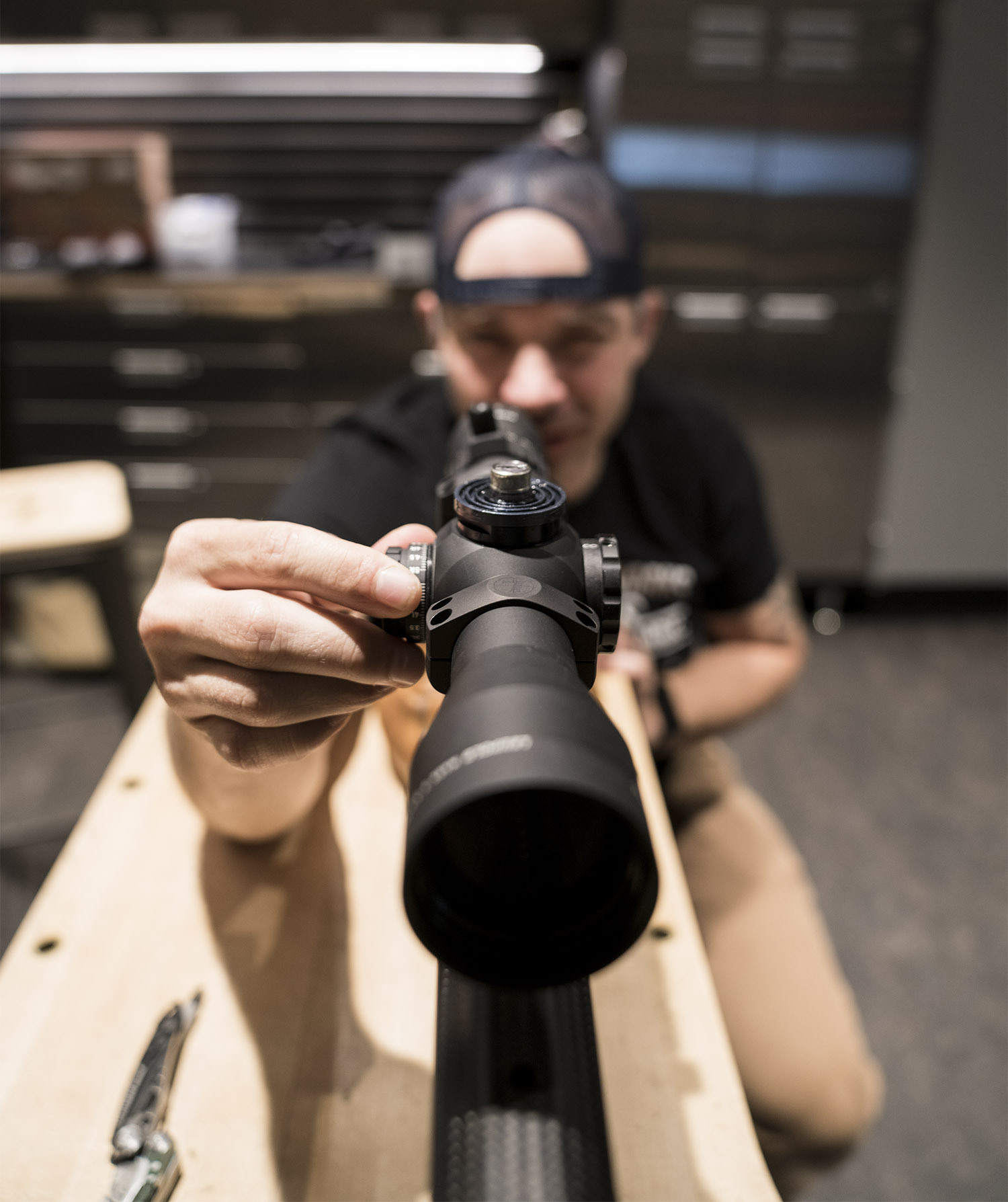 how to sight in a scope leupold