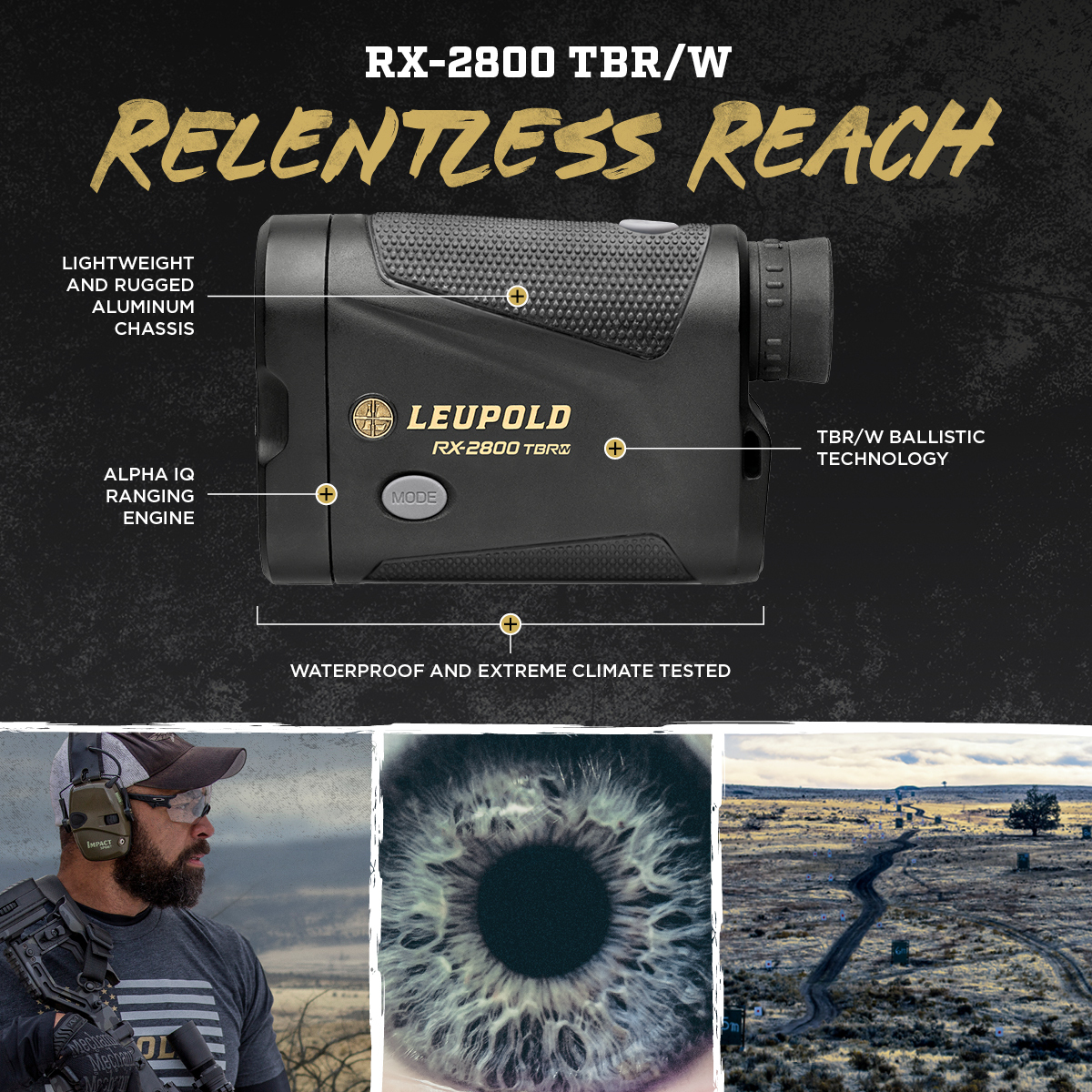Relentless Reach: Introducing the RX-2800 TBR/W   Leupold