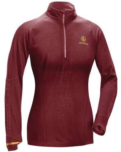 Women's Secluded Baselayer 1/2 Zip Wine