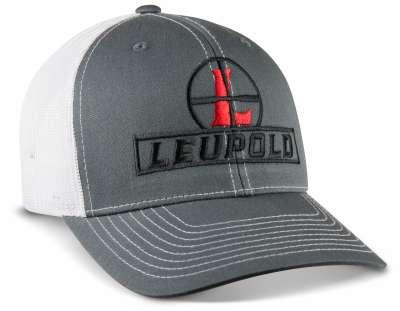 Reticle Trucker Hat Grey / White