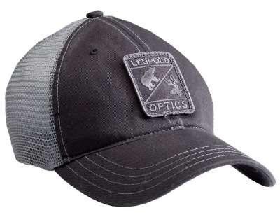 Reticle Soft Trucker Hat W  Black / Grey