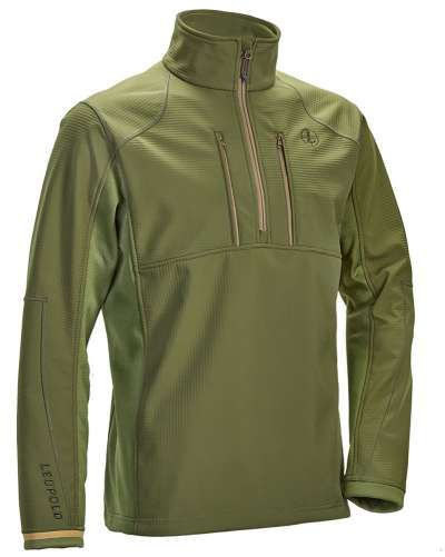 Men's Secluded 1/2 Zip Shadow Green