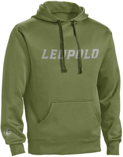 Leupold Logo Hoodie Shadow Green