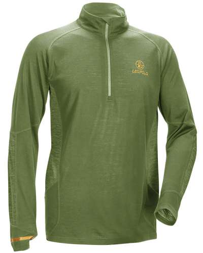 Men's Secluded Baselayer 1/2 Zip Shadow Green