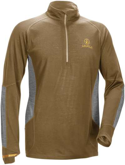 Men's Secluded Baselayer 1/2 Zip Shadow Tan