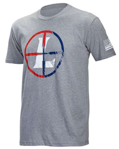 Men's SS USA Reticle Tee Gray Heather