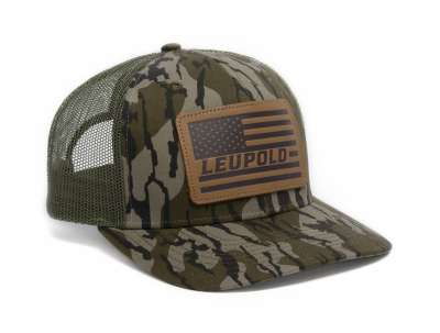 Bottomland Leather Flag Trucker