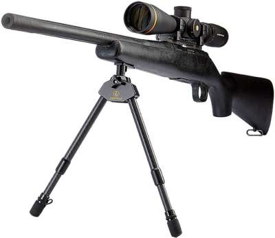 Leupold Magnetic Carbon Fiber Bipod Long