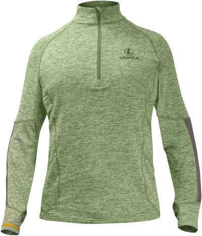 Covert Shadow 1/2 Zip Green Heather