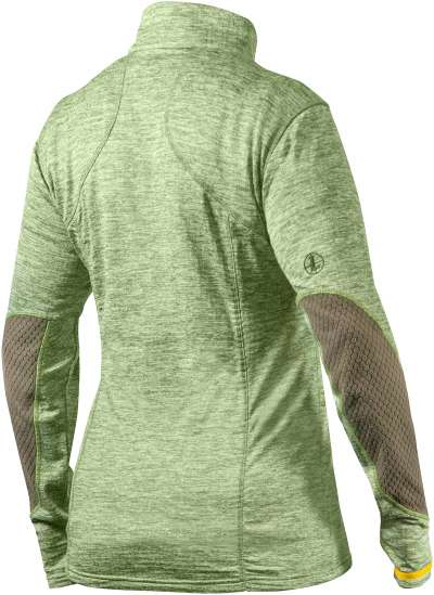 Women's Covert 1/2 Zip Green Heather