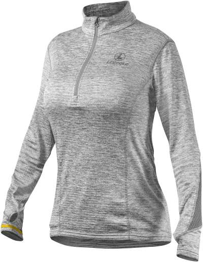 Women's Covert 1/2 Zip Gray Heather