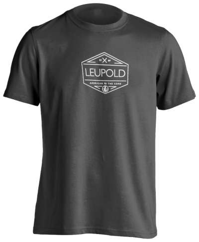 Men's Leupold CORE Badge Gray Premium Tee