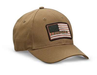 Flag Twill Hat Brown