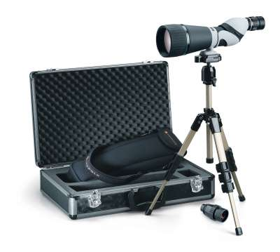 SX-2 Kenai 30x, 25-60x80mm HD Straight Spotting Scope Kit