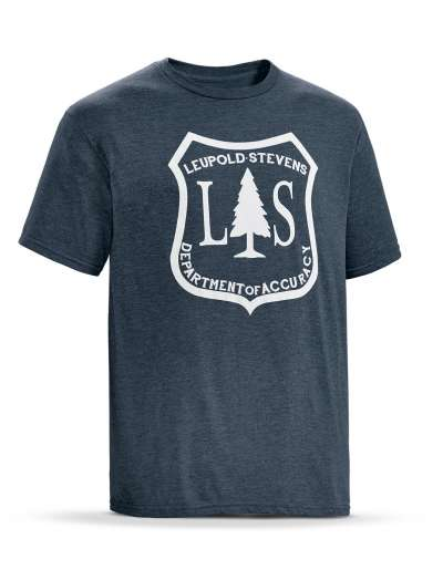 SS L&S Tee  Navy Heather