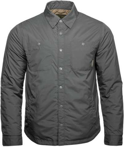 Alpine Lite Insulated Snap Shirt Gunmetal