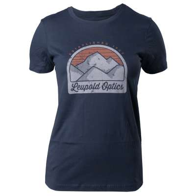 Women's Mountain Premium Tee - Indigo