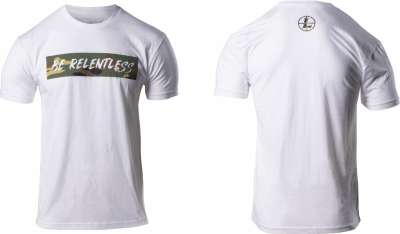 Be Relentless Tee White