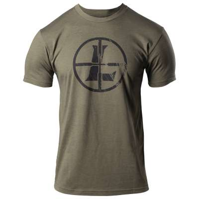 Distressed Reticle Tee Military Green