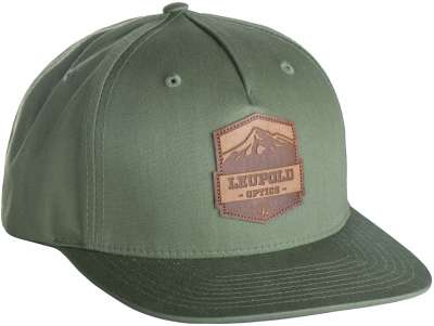 Mountain Leather Patch Army Olive