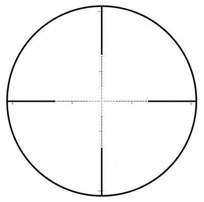 Front Focal Mil Dot (Mk)